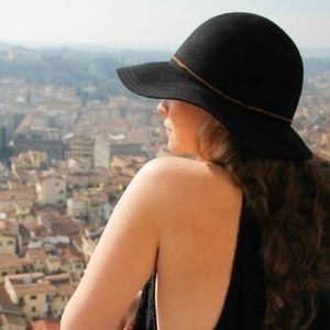 Urban Outfitters Floppy Black Hat